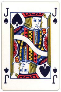 Schoppen Boer speelkaart Montecarlo Cards standard pattern playing cards