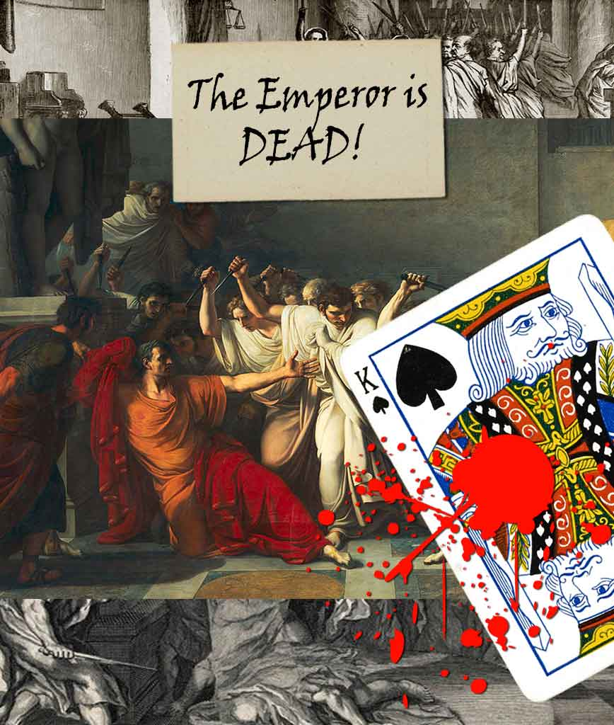 The emperor is dead card