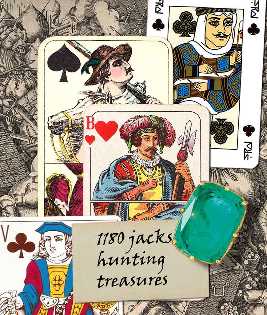jacks cards collection card