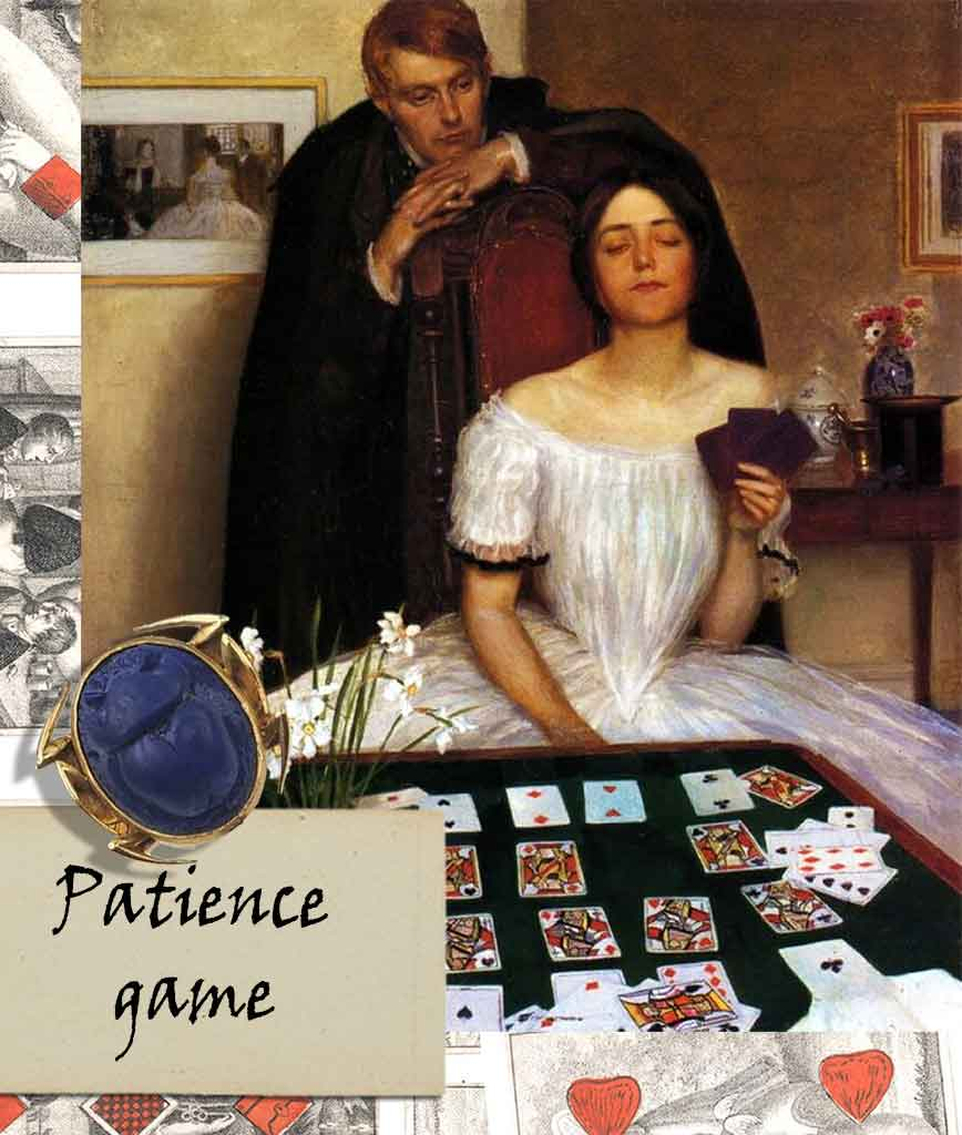 patience card game card